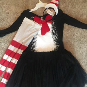 Dr. Seuss's cat in the hat costumes for girls